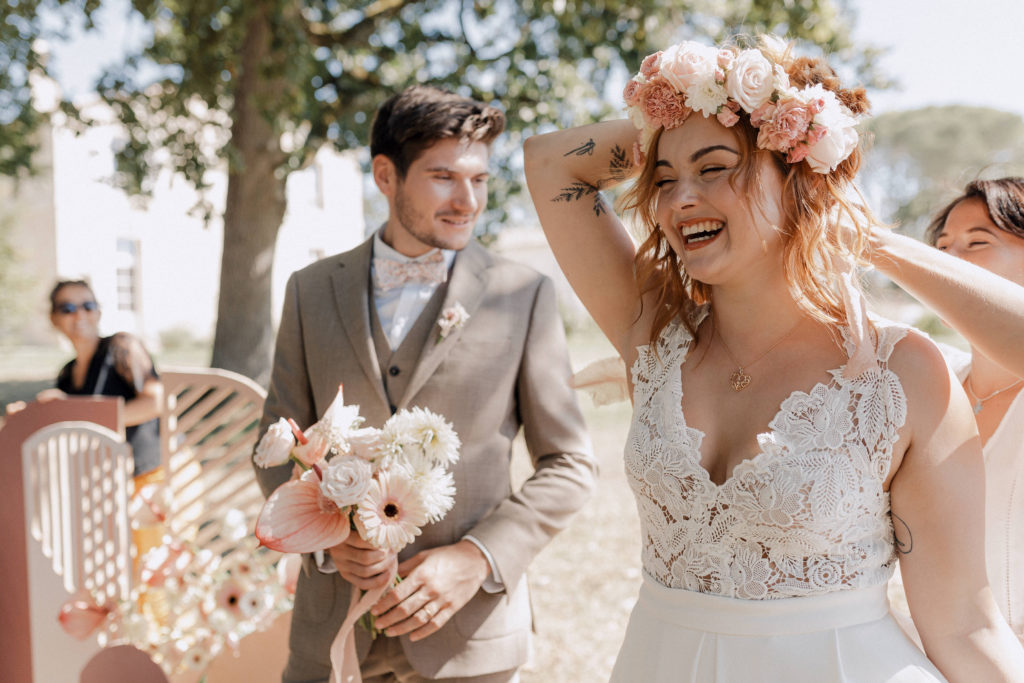 Wedding Planner habille mariée