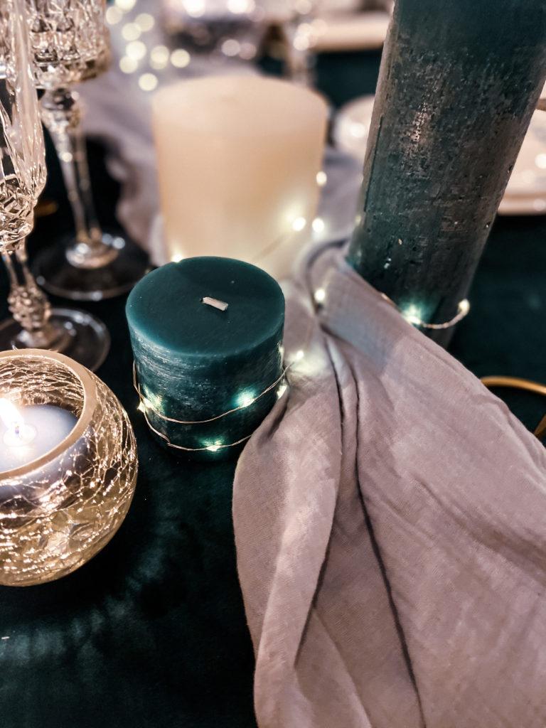 Mariage Bleu et Vert Design