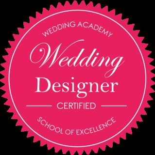 Certified Wedding Designer