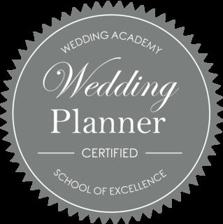 Wedding Planner certified