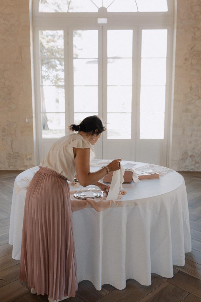 Set Up by your wedding designer